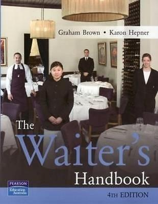 NEW The Waiter's Handbook By Graham Brown Paperback Free Shipping
