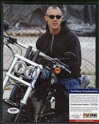 Theo Rossi Sons of Anarchy Signed 8x10 Photo PSA/DNA COA AUTO Autograph