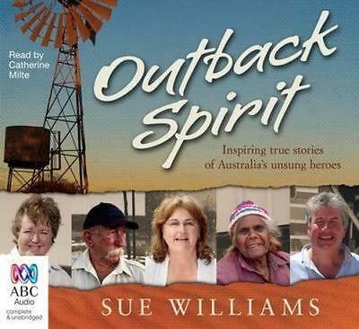 NEW Outback Spirit By Catherine Milte Audio CD Free Shipping