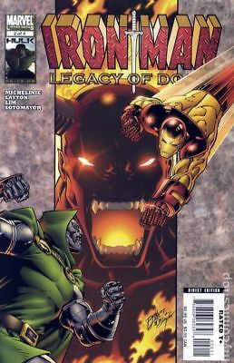 Iron Man Legacy of Doom (2008) #2 FN