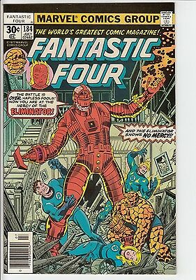 Marvel Fantastic Four #184 Jul 1977 Aftermath-The Eliminator Fine/Very Fine 7.0