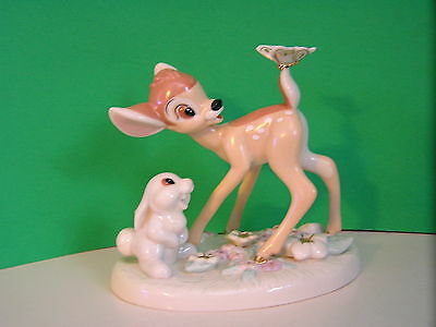 LENOX Disney A SURPRISE FOR BAMBI sculpture NEW in BOX with COA  Thumper
