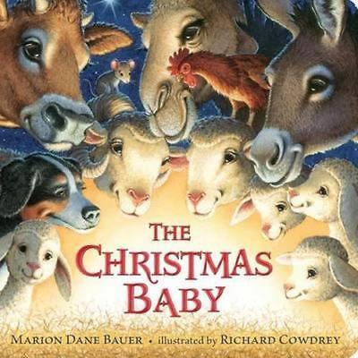 NEW The Christmas Baby By Marion Dane Bauer Board Book Free Shipping