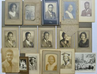 LOT of 16, c1934 - 47 VINTAGE PHOTOS BLACK AFRICAN AMERICAN s CLEVELAND OH