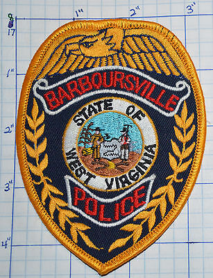 West Virginia, Barboursville Police Dept Gold Edge Patch