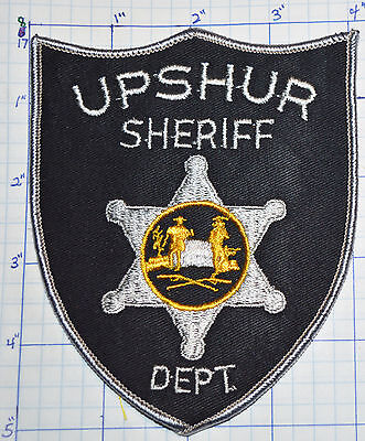 West Virginia, Upshur County Sheriff Dept Patch