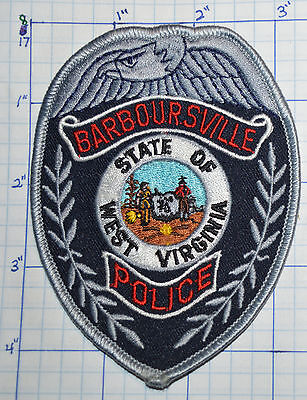 West Virginia, Barboursville Police Dept Gray Edge Patch