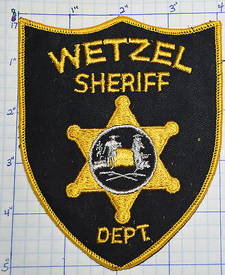 West Virginia, Wetzel County Sheriff Dept Patch