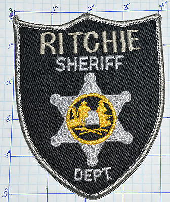 West Virginia, Ritchie County Sheriff Dept Patch