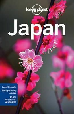 NEW Japan By Lonely Planet Travel Guide Paperback Free Shipping