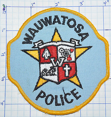 Wisconsin, Wauwatosa Police Dept Patch
