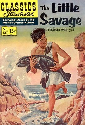 Classics Illustrated 137 The Little Savage (1957) #1 GD/VG 3.0 LOW GRADE