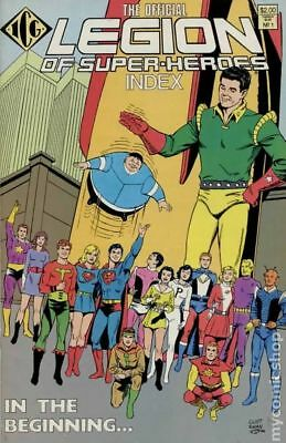 Legion of Super-Heroes Index (1986) Official #1 VF