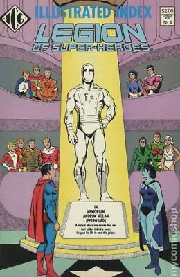 Legion of Super-Heroes Index (1986) Official #4 NM