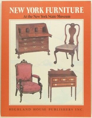 Antique New York Furniture - New York State Museum Collection Catalog -softcover