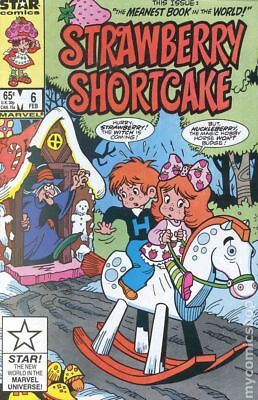 Strawberry Shortcake (1985 Marvel/Star Comics) #6 VG/FN 5.0 LOW GRADE