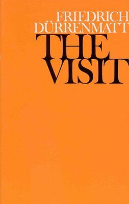 The Visit by Friedrich Durrenmatt | Paperback Book | 9780224009140 | NEW