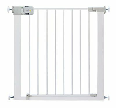 Safety 1st Secure Tech Simply Close Metal Gate – White