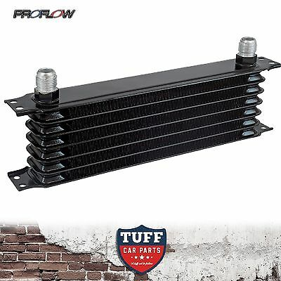 Proflow High Performance Engine Oil Cooler 7 Row 340 x 90 x 50 -10AN Fittings