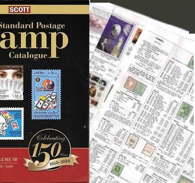 Russia 2018 Scott Catalogue Pages 347-552
