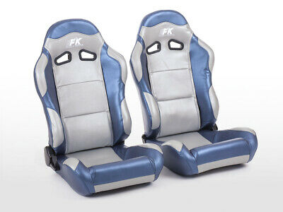 Sport Seats sièges  4250414638283 - Spacelook neri similpelle tuning race