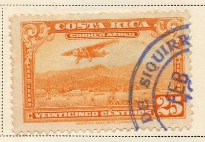 Costa Rica 1934 Early Issue Fine Used 25c. 168240