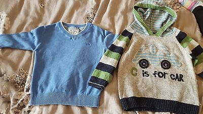 2 Next jumpers 12-18m