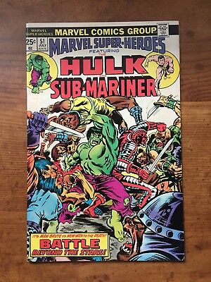 Marvel Super-Heroes #51/1975