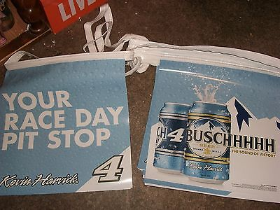 Busch #4 Nascar Kevin Harvick streamers signs flags 30 double sided vinyl race