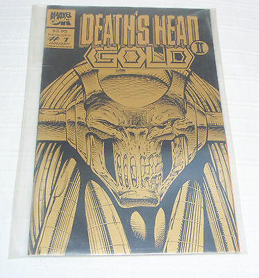 Deaths Head 2 - Issue 1 - Gold - NM - Marvel UK