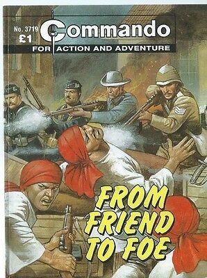 From Friend To Foe,commando For Action And Adventure,no.3719,war Comic,2004