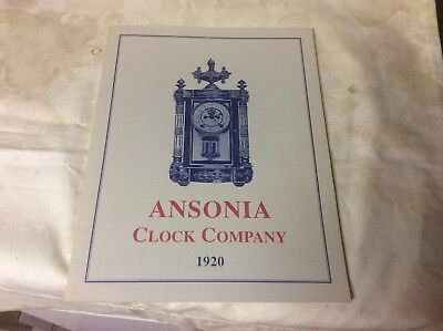 Ansonia Clock Book