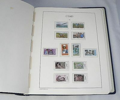 Comprehensive CISKEI Lighthouse Illustrated Album with Stamps 1981 - 1994