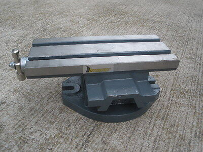 "COMPOUND SLIDE MILLING TABLE 5-1/2""x12""  H7979 Interstate - NEW"