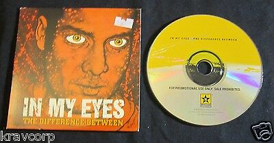 In My Eyes 'The Difference Between' 1998 Advance Cd