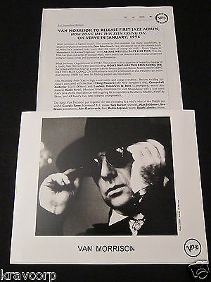 Van Morrison 'How Long Has This Been Going On' 1996 Press Kit—Photo