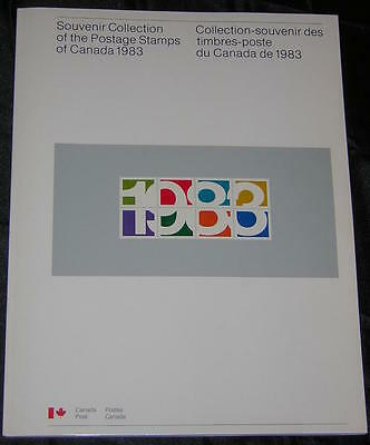 Canada MNH New Issues Souvenir Collection 1983