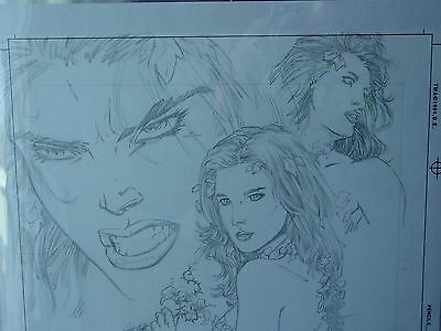 Poison Ivy Original (Pencils) Signed By The Artist