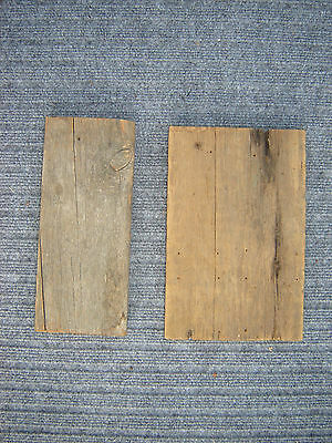 Vtg Antique Reclaimed Old Barn Wood Board Salvaged Siding Lumber Signs/Crafts YY