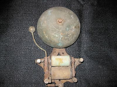 Antique Cast Iron Door Bell Old Vintage