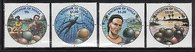 Tonga 1066-69a Pearl Diving Mint NH