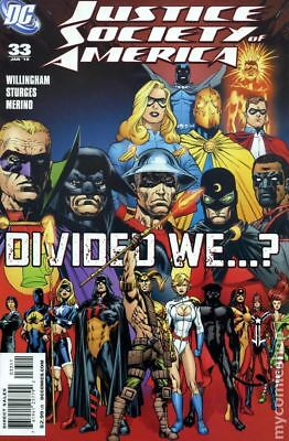Justice Society of America (2006-2011 3rd Series) #33 VF