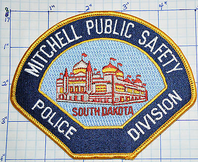 South Dakota, Mitchell Public Safety Police Division Patch