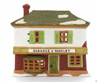 Dept 56 Dickens Village *scrooge Marley Counting House* 65005 Christmas Carol