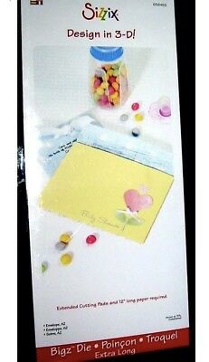 Sizzix Die Bigz XL Very Large A2 Envelope For Card Oversized Used Diecut Retired