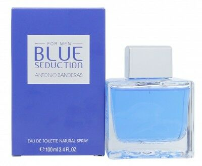 c225173aa Antonio Banderas Blue Seduction Eau De Toilette Edt 100Ml Spray - Men's For  Him