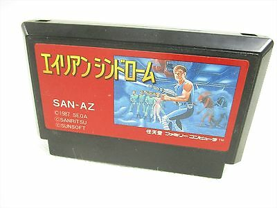 Famicom ALIEN SYNDROME Cartridge Only Nintendo Import JAPAN Game fc