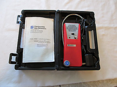 Tif 8800 Combustible Gas Detector Powers On