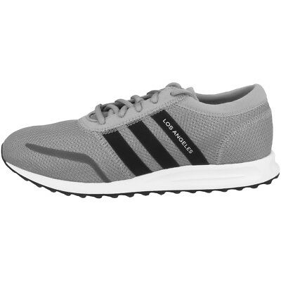 ADIDAS LOS ANGELES J SCARPE ORIGINALS SNEAKER GREY BLACK Trainer ZX K bz0158