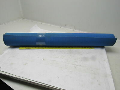 "1-Ply Blue Smooth Top Rubber Conveyor Belt 13' X 33"" X 0.50"""